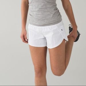 Lululemon Tracker Shorts in White